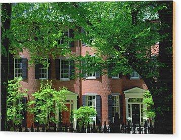 10 Louisburg Sq Beacon Hill Wood Print