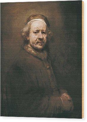 Rembrandt, Harmenszoon Van Rijn, Called Wood Print by Everett