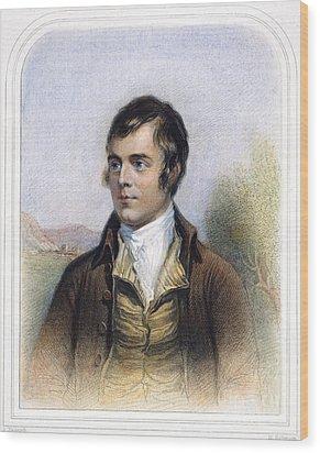 Robert Burns 1759-1796 Wood Print by Granger