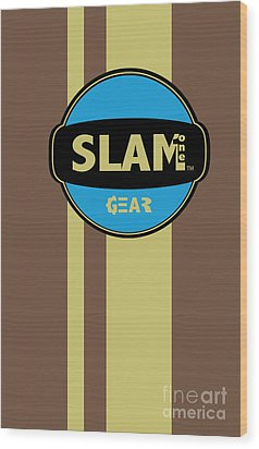 Slam One Gear Wood Print by James Eye