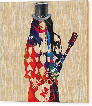 Slash Collection Wood Print