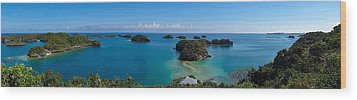 100 Islands National Park Wood Print