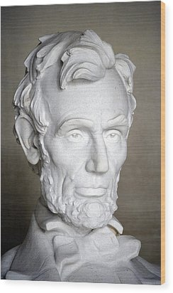 Abraham Lincoln (1809-1865) Wood Print by Granger