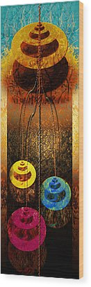 Abstract Wood Print by Tripti Singh
