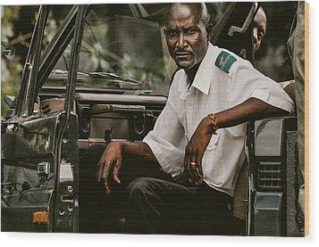 Africa Wood Print by Mihai Ilie