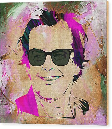 Jack Nicholson Collection Wood Print
