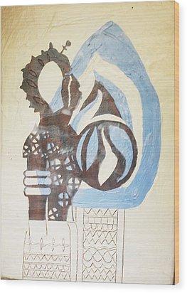 The Wise Virgin Wood Print by Gloria Ssali