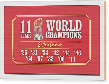11 Time World Chapion Poster Dsc01106 Wood Print