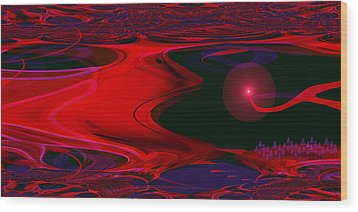 1137 - Parallel Universe Wood Print