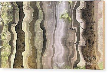 Dream Forest Wood Print by Odon Czintos