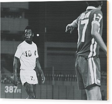 Pele Wood Print by Retro Images Archive