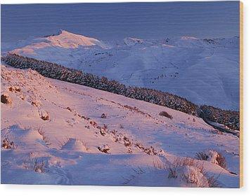 Sierra Nevada Wood Print by Guido Montanes Castillo