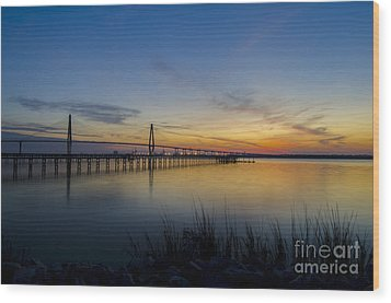 Wood Print featuring the photograph Peacefull Hues Of Orange And Yellow  by Dale Powell