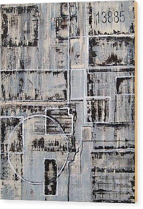 13885 By Elwira Pioro Wood Print by Tom Fedro - Fidostudio