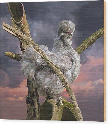 14. Cuckoo Bush Wood Print