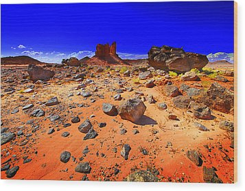 Wood Print featuring the photograph Monument Valley Usa by Richard Wiggins