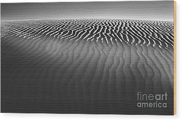 White Sands New Mexico Wood Print by Gregory Dyer