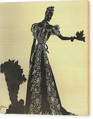 Women�s Fashion 1930s 1939 1930s Uk Wood Print by The Advertising Archives