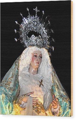 143 Semana Santa In Olvera Wood Print by Patrick King