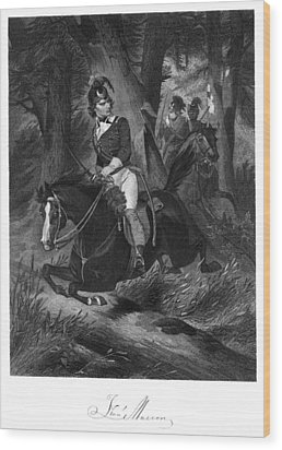 Francis Marion (1732?-1795) Wood Print by Granger