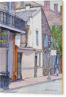 153 Wood Print by John Boles