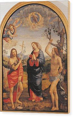 Italy, Lombardy, Milan, Brera Art Wood Print by Everett