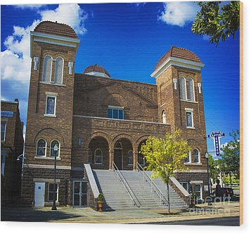 16th Street Baptist Church Wood Print