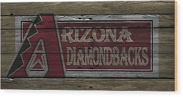 Arizona Diamondbacks Wood Print
