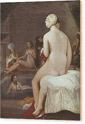 Ingres, Jean-auguste-dominique Wood Print by Everett