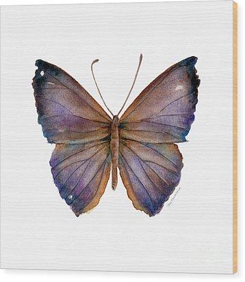 18 Purple Pandemos Wood Print by Amy Kirkpatrick