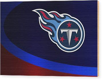 Tennessee Titans Wood Print by Joe Hamilton