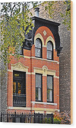 1817 N Orleans St Old Town Chicago Wood Print by Christine Till