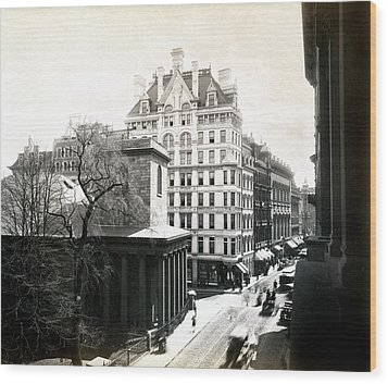 1890 Tremont Street Boston Wood Print