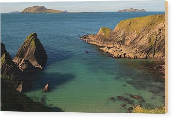 Blasket Islands Wood Print