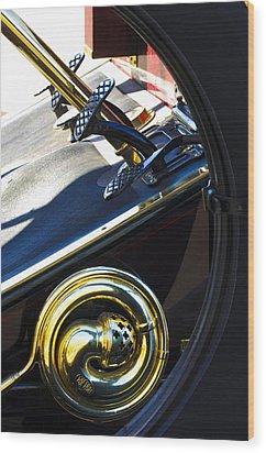 1907 Panhard Et Levassor Demi Toneau 38 Hp Horn Wood Print by Jill Reger