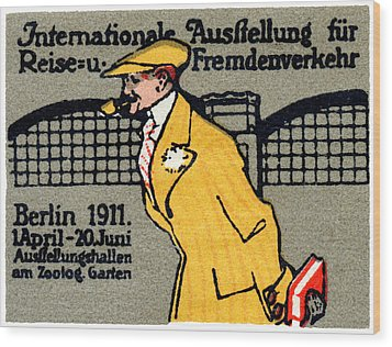 1911 Berlin International Travel Expo Wood Print by Historic Image