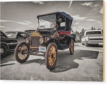 1916 Ford Model T Wood Print