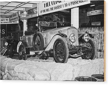 1921 Vauxhall 30/98e Wood Print by Boris Mordukhayev