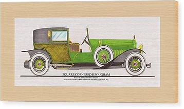 1923 Minerva By Raymond H. Dietrich Lebaron Inc Wood Print by Jack Pumphrey