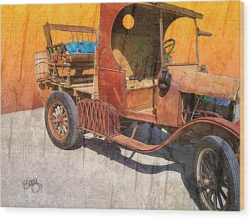 1925 Ford Truck Wood Print by Larry Bishop