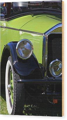 1926 Pierce Arrow Wood Print by Davandra Cribbie