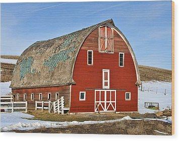1927 Barn Wood Print