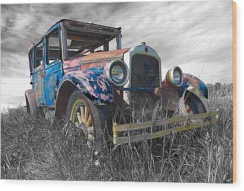 1927 Buick Wood Print