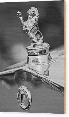 1927 Franklin Sedan Hood Ornament 2 Wood Print by Jill Reger