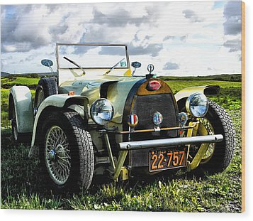 1929 Bugatti Wood Print by Bill Cannon