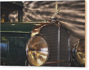 1931 Oakland Sports Coupe Wood Print by Thomas Woolworth