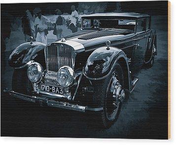 1932 Bucciali Tav 12 Wood Print by James Howe
