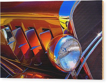 1932 Chevy Coupe Wood Print by David Patterson