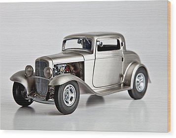 Wood Print featuring the photograph 1932 Ford 3 Window Coupe by Gianfranco Weiss