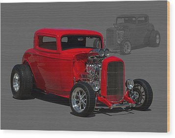 1932 Ford Coupe Wood Print by Tim McCullough